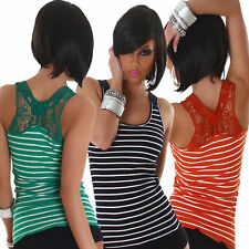 Cotton Party Striped Plus Size Tops & Shirts for Women