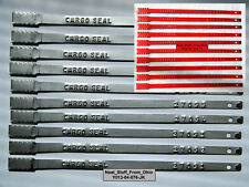 ALL-METAL, METAL-BAND TYPE, 100 HIGH QUALITY TRANSPORTATION SECURITY SEALS