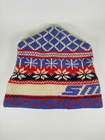 Vintage Smith Ski Hat Top Notch Knits Wool Handmade Stocking Cap