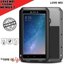 Xiaomi mi Max 2 funda Love Mei metal aluminio y silicona Antigolpes Ultra R