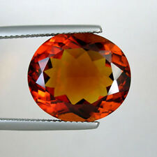 11.56 cts  OUTSTANDING LUSTROUS NATURAL MADEIRA CITRINE  OVAL   # 9010 JB