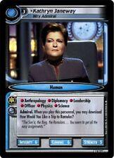 Star Trek CCG 2E Premiere Kathryn Janeway, Wry Admiral 1R271