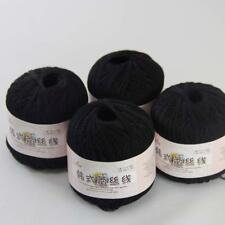 Thread No.8 Cotton Crochet Yarn Craft Tatting Hand Knit Warp Shawls 50gr x4 #07