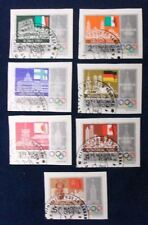 Hungary SC# 2585-91 CTO 1979 IMPERF Pre-Olympic Year