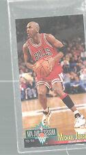 Michael Jordan Chicago Bulls #33Guard 1993-94 Fleer Jam Session Basketball Card