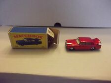 Vintage Lesney Matchbox Rolls-Royce Silver Shadow car NIB 24 Early Blue box #24