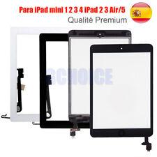 Pantalla Tactil para iPad mini 1 2 3 4 iPad 2 3 Air/5 +CHIP IC & Botón Home