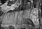 1950s Original PHILIP HYDE California Canyon Rock Abstract Silver Gelatin Photo