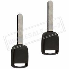 2 Replacement For 2003 2004 2005 Honda Civic Transponder Key