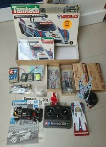 TAMIYA TAMTECH Lancia 1/24 LC2 RC + lots of new / used spares!