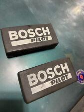 Bosch Pilot Fog Light Cover Set Dodge Omni GLH Turbo Charger SAAB Volvo GLHS OEM