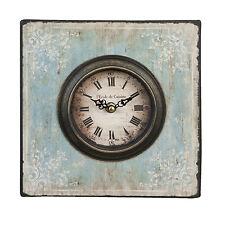 Nostalgie Uhr Wanduhr Vintage mit Ornamentmuster Antik Clayre & Eef 6KL0151 NEU