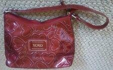 XOXO HEART SHAPE PATTERN HAND BAG