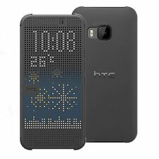 New Fashion HTC Dot View Premium Flip Smart Case Cover for HTC ONE M8 Authentic