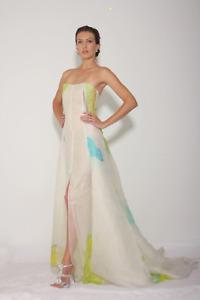 Heather Jones Abstract Hibiscus Dress