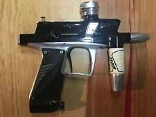 Used Bob Long G6R Paintball Marker Silver and Black