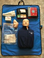 Lateral First Aid/CPR AED Little Anne and AED Trainer.