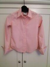 Girls' Ralph Lauren Pink Cotton Long Sleeved Shirt Size 7 FREE P&P