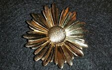 Large Vintage Trifari Flower Pin Brooch