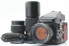 【N MINT】 Mamiya 645 Pro TL AE Finder w/ 80mm f/1.9 150mm 300mm from Japan #1363