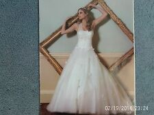 New Ivory Wedding Dress with tags, Size 14. Opulence Buttercup design