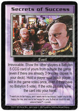 Babylon 5 CCG Severed Dreams Promo Card Secrets of Success NM Near Mint
