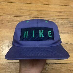 Vintage 90s Nike Snapback Adjustable Hat