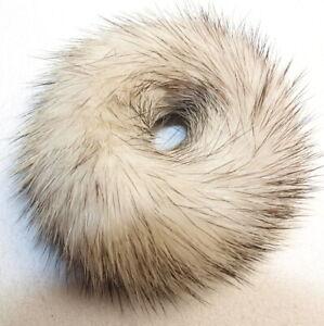 Mink Hair Bands Fur Bracelet Kohinoor Black Cross Bridal Scrunchie Jewelry Ivory
