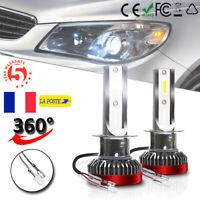 H1 110W 20000LM LED Phare de voiture Ampoule Auto Lampe Headlight 6K Xénon Blanc