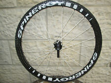 REAR Spinergy Stealth FCT Full Carbon Tubular PBO Spokes Wheel Shimano 10sp