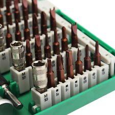 60en1 Coffret Précision Tournevis Réparation Outil Kit Téléphone Montre Horloger