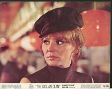 Irina Demick  face close up in The Sicilian Clan 1969 original movie photo 23172