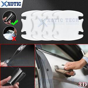 4X 3D SHEETS CLEAR ADHESIVE CAR DOOR HANDLE PAINT PROTECTOR SCRATCH FILM GUARD