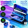 4000mAh TWS bluetooth 5.0 Écouteurs Sans Fil Affichage LED Sport Stéréo Casque