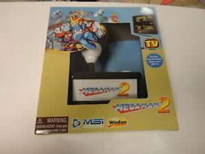 MegaMan 2 Retro TV Arcade Plug and Play Game System Capcom MSI New Sealed Box