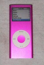 Apple iPod nano 2nd gen 4GB Pink. Works great.