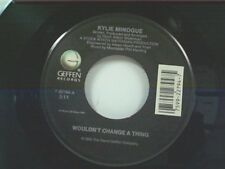 "KYLIE MINOGUE ""WOULDN'T CHANGE A THING / IT'S NO SECRET"" 45 MINT"