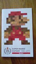 Super mario 25th anniversary BOOKLET