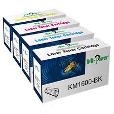 Set of 4 Compatible Toner Cartridges for QMS Konica Minolta Magicolor 1600 1600W