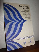 Choral Music:Ted E. Bear and Me Truesdale/Lentz  Two-Part Accompanied(Studio 224