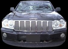 CHROME MESH GRILLE GRILL KIT For JEEP GRAND CHEROKEE 2009 2010