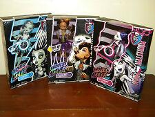 Monster High Ghoul's Alive 3 Dolls Spectra Vondergeist, Frankie, Clawdeen NRFB