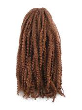 CYBERLOXSHOP MARLEY BRAID AFRO KINKY HAIR #30 DARK RED BROWN DREADS SYNTHETIC