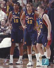 CT SUN DREAM TEAM 2005 WNBA LICENSED COLOR  8X10 PHOTOGRAPH WHALEN SALES JONES