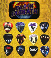 BLACK SABBATH  Guitar Pick Tin Includes Set of 12 Guitar Picks