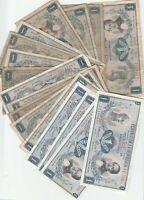Colombia 1 Peso 1964 1969 1970 1971 1973 1974 Banknotes Papermoney Lot of 18