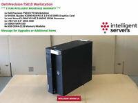 Dell T5810 Workstation, E5-2660 V3 2.6GHz  32GB  500GB SSD  1TB HDD Quadro K2200
