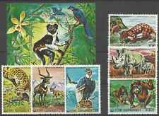 Timbres Animaux Comores 170/4 PA118 BF6 ** lot 3916