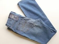 Marks and Spencer Cotton Faded High Rise Jeans for Women