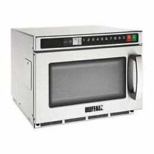 More details for buffalo programmable commercial microwave - 17ltr 1800watt